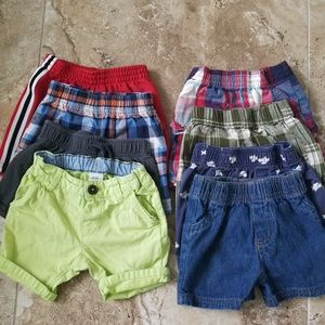Other - Lot of 12 mo Boys Shorts